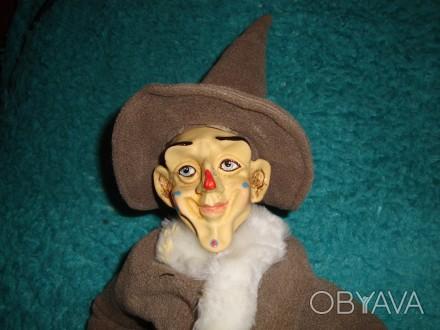 Продам игрушку Клоун. 50 см. Тело мягконабивное. Руки и голова фарфоровые. 500гр. Днепр, Днепропетровская область. фото 1