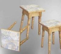 Деревянные стулья, табуреты и столы - от производителя. Черкассы. фото 1