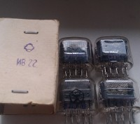 Продаются люминисцентные семисегментные индикаторы ИВ6, ИН12, ИВ22. Київ. фото 1