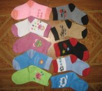 Детские носочки.  Подойдут для мальчиков и для девочек.  Состав: хлопок 80%, п. Черкассы, Черкасская область. фото 3