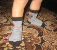Детские носочки.  Подойдут для мальчиков и для девочек.  Состав: хлопок 80%, п. Черкассы, Черкасская область. фото 6