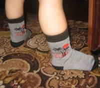 Детские носочки.  Подойдут для мальчиков и для девочек.  Состав: хлопок 80%, п. Черкассы, Черкасская область. фото 7