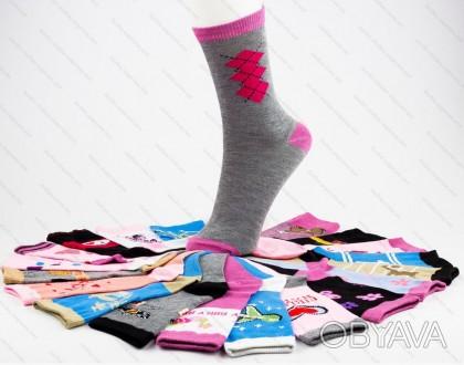 Детские носочки.  Подойдут для мальчиков и для девочек.  Состав: хлопок 80%, п. Черкассы, Черкасская область. фото 1