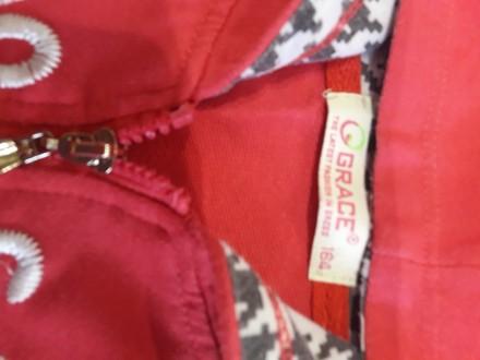 Хлопок, не затертый, в отличном состоянии, розовый. Длина брюк 95 см, рукава 54 . Черкаси, Черкаська область. фото 3