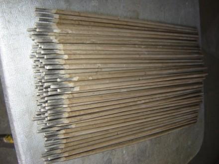 Электроды нержавейка, диаметр 3 мм (не магнитятся, коричневая обмазка, тип элект. Белая Церковь, Киевская область. фото 3