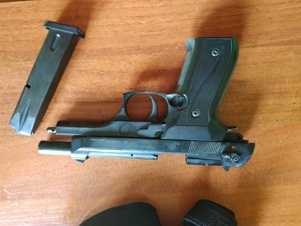 Продам сигнальный пистолет Ekol Firat Magnum - копия боевого пистолета Beretta 9. Днепр, Днепропетровская область. фото 4