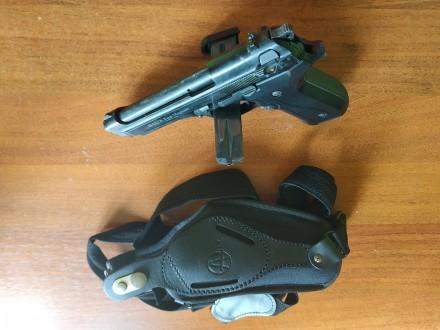 Продам сигнальный пистолет Ekol Firat Magnum - копия боевого пистолета Beretta 9. Днепр, Днепропетровская область. фото 3