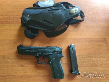 Продам сигнальный пистолет Ekol Firat Magnum - копия боевого пистолета Beretta 9. Днепр, Днепропетровская область. фото 1