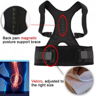 Магнитный корректор осанки избавит от болей в спине, от сутулости, восстанавлива. Одесса, Одесская область. фото 5