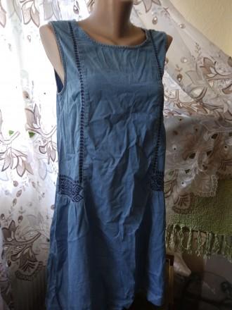 Платье летнее с вышивкой   (119). Житомир. фото 1