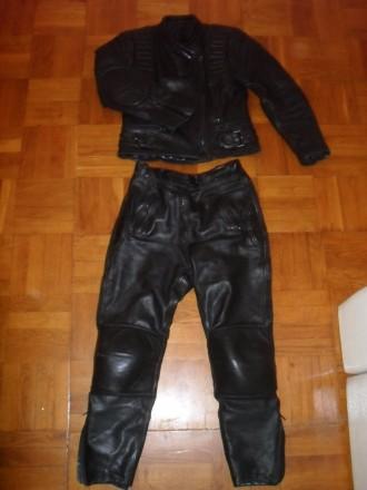 Мотокостюм кожаный женский MODEKA ( Корея ) , размер 38 ( S-М ). Киев. фото 1