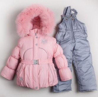 Детский зимний комплект ( комбинезон+куртка). Луцк. фото 1