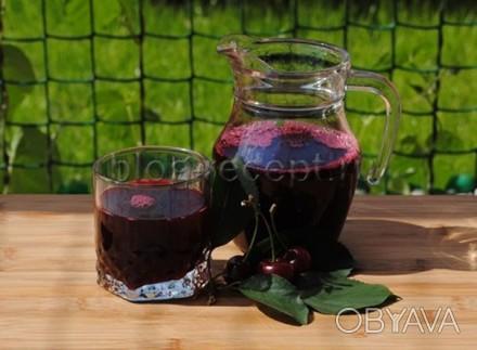Вишнёвый натуральный сок, без воды, без каких либо добавок, только чистый 100% с. Ужгород, Закарпатская область. фото 1