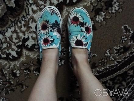 Легке взуття без шнурівки. Нововоронцовка, Херсонская область. фото 1