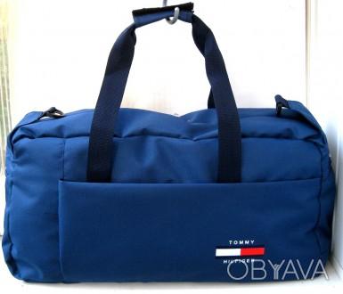 33ec0f099499 ᐈ Спортивная, дорожная сумка Tommy Hilfiger унисекс 61см синяя ᐈ ...