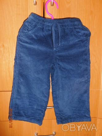 Очень классные вельветовые штанишки. Нам стали малы. Одевали пару разиков. Состо. Черкаси, Черкаська область. фото 1