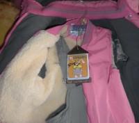 Красивый,теплый комбез с подстежкой на овчине отстегивающейся!!!. Черкаси, Черкаська область. фото 3
