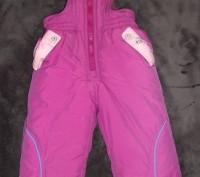 Продаю штаны-полукомбинезон зимние,утепленные для девочки .Новые!На возраст 1-1.. Кривий Ріг, Дніпропетровська область. фото 2
