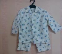 пижама детская байковая 2-3года. Энергодар. фото 1