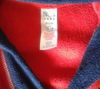 Продам махровый халат по бирке на 12-18 мес (рост 86 см), но реально можно и бол. Северодонецк, Луганская область. фото 3