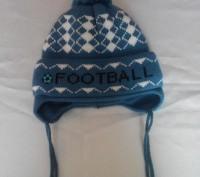 Новая зимняя шапочка на мальчика 3-5 лет.замеры по просьбе. Бердянськ, Запорізька область. фото 2