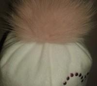 Продам очень красивую и тёплую фирменную зимнюю шапку на девочку 2-3 года. Бубон. Северодонецк, Луганская область. фото 3
