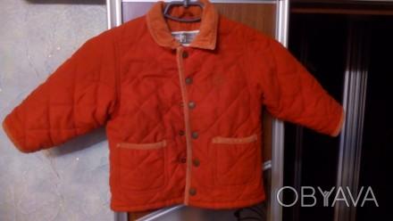 Курточка теплая демисезонная для мальчика в отличном состоянии. На рост 92 см. М. Чернигов, Черниговская область. фото 1