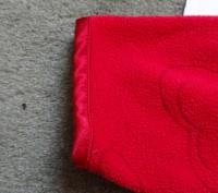 Новая флисовая кофта в сердечки с капюшоном, красного цвета,без бирки, флис не т. Київ, Київська область. фото 6