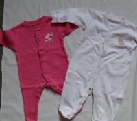Человечки размер 0-3 месяца, рост 56-62, 100 % хлопок, некоторые одеты пару раз,. Киев, Киевская область. фото 7