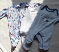 Человечки размер 0-3 месяца, рост 56-62, 100 % хлопок, некоторые одеты пару раз,. Киев, Киевская область. фото 12