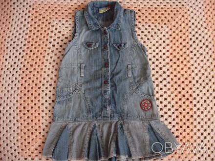 Джинсовое платье харьков