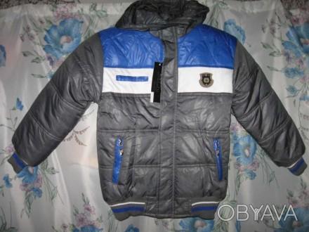 Предлагаю НОВУЮ куртку для мальчика 8-10 лет (size12), верх- 100% полиэстер, вну. Черкассы, Черкасская область. фото 1