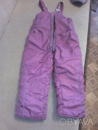 Зимние штаны детские,для девочки на 4-5 лет в зависимости роста девочки,все вопр. Черкассы, Черкасская область. фото 1
