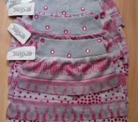 Юбка для девочки, очень красивая и яркая, имеется подкладка. Цвет - серый с розо. Одеса, Одеська область. фото 4