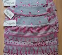 Юбка для девочки, очень красивая и яркая, имеется подкладка. Цвет - серый с розо. Одеса, Одеська область. фото 3