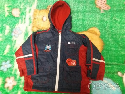 Продам куртку на мальчика на возраст 2/3 года рост 98 см, но можно носить и доль. Запорожье, Запорожская область. фото 1