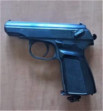 Пневматический газобаллонный пистолет Байкал МР-654К. Калибр 4.5 мм, ствол нарез. Киев, Киевская область. фото 2