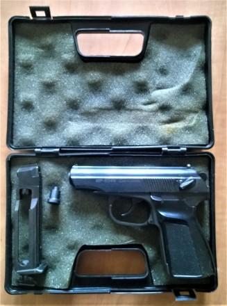 Пневматический газобаллонный пистолет Байкал МР-654К. Калибр 4.5 мм, ствол нарез. Киев, Киевская область. фото 4
