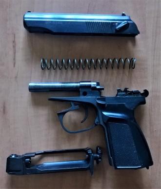 Пневматический газобаллонный пистолет Байкал МР-654К. Калибр 4.5 мм, ствол нарез. Киев, Киевская область. фото 3