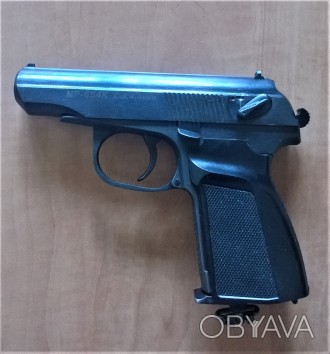 Пневматический газобаллонный пистолет Байкал МР-654К. Калибр 4.5 мм, ствол нарез. Киев, Киевская область. фото 1