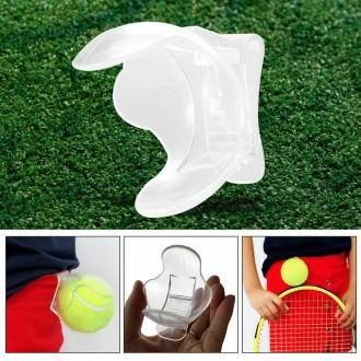 Держатель для мячей большой теннис , клипса для мячей. Николаев. фото 1