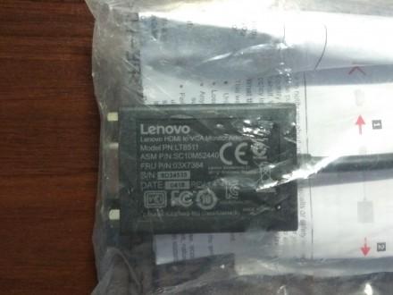 Нужный и компактный, практичный и незаметный Переходник Lenovo HDMI - VGA Adapt. Луцк, Волынская область. фото 7