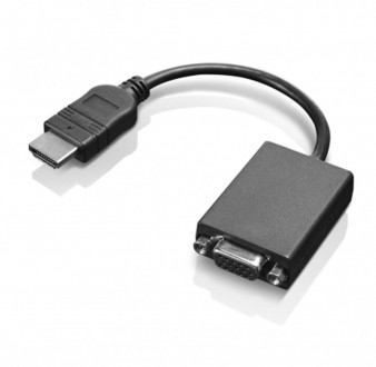 Нужный и компактный, практичный и незаметный Переходник Lenovo HDMI - VGA Adapt. Луцк, Волынская область. фото 4