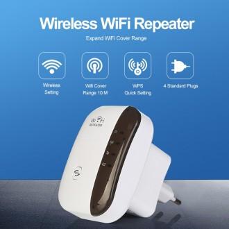Wi-Fi Repeater Репитер Wi-Fi роутер Усилитель Wifi сигнала - Может работать в ре. Одесса, Одесская область. фото 2