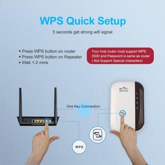 Wi-Fi Repeater Репитер Wi-Fi роутер Усилитель Wifi сигнала - Может работать в ре. Одесса, Одесская область. фото 4