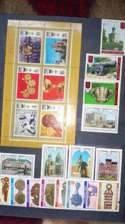 """Колекційні марки і блоки на тему """"Мистецтво"""" різних країн і років випуску (Украї. Чернигов, Черниговская область. фото 2"""