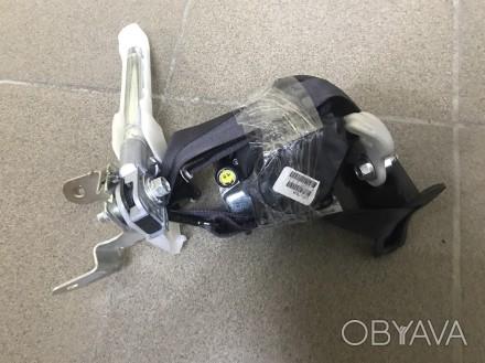 Ремень безопасности водительский черный ( стрельнут) Nissan Leaf 13-17  86885-3. Тернополь, Тернопольская область. фото 1