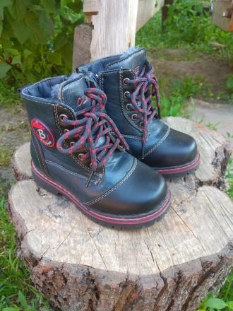 Зимние ботинки для мальчика. Київ. фото 1