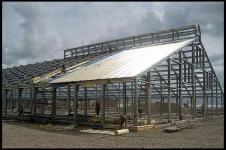 Компания Альбатрос занимается монтированием зданий каркасного типа из высококаче. Днепр, Днепропетровская область. фото 5
