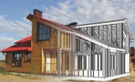 Компания Альбатрос занимается монтированием зданий каркасного типа из высококаче. Днепр, Днепропетровская область. фото 4